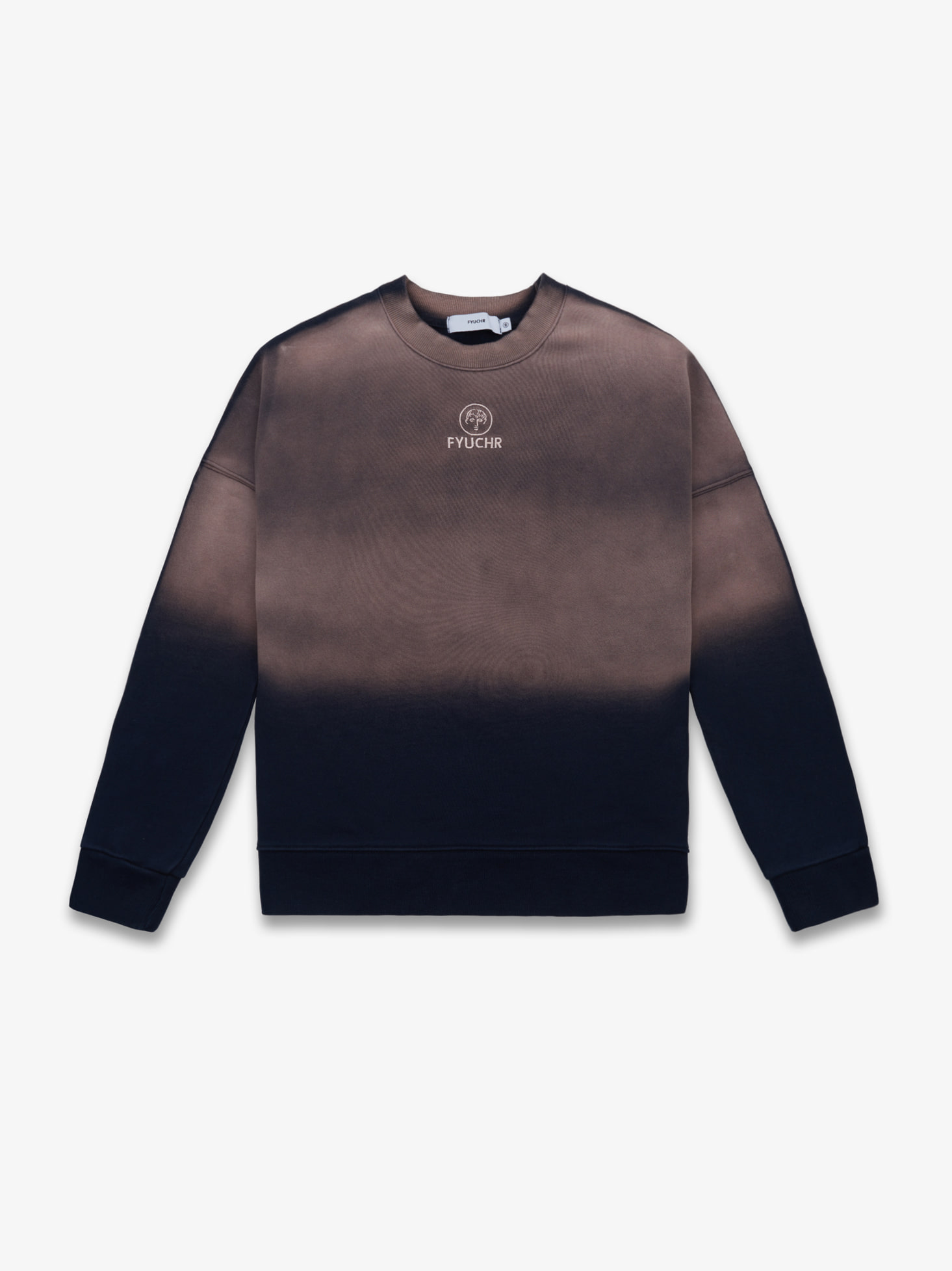 COLOR GRADIENT CREWNECK SHIRTS (NAVY) 시즌오프 50% 특별할인 81,000원 ->